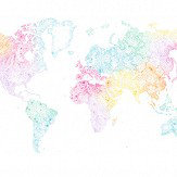 Sandberg World Map Multi Mural - Product code: 630-19