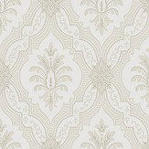 Boråstapeter Lily Beige and White Wallpaper - Product code: 4017