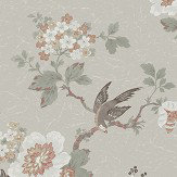 Boråstapeter Phoenix Beige/ Green Wallpaper - Product code: 4026