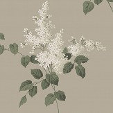 Boråstapeter Lilacs Cream and Taupe Wallpaper - Product code: 4036