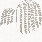 Sanderson Bay Willow Silver Wallpaper