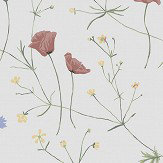 Boråstapeter Midsummer White Wallpaper - Product code: 4038