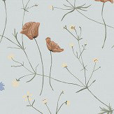 Boråstapeter Midsummer Blue Wallpaper - Product code: 4039