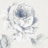 Sanderson Rosa Indigo Wallpaper - Product code: 216277