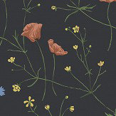 Boråstapeter Midsummer Black Wallpaper - Product code: 4040