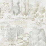 Sanderson Waterperry Ivory and Stone Wallpaper