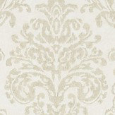 Sanderson Riverside Damask Oyster and Pearl Wallpaper - Product code: 216287