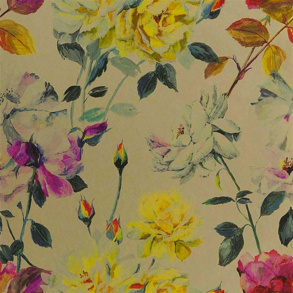 Designers Guild Couture Rose Tuberose Wallpaper main image