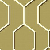 Wedgwood Home Hex  Gold Wallpaper