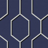 Wedgwood Home Hex Blue Wallpaper