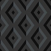 Wedgwood Home Diamond Black Wallpaper