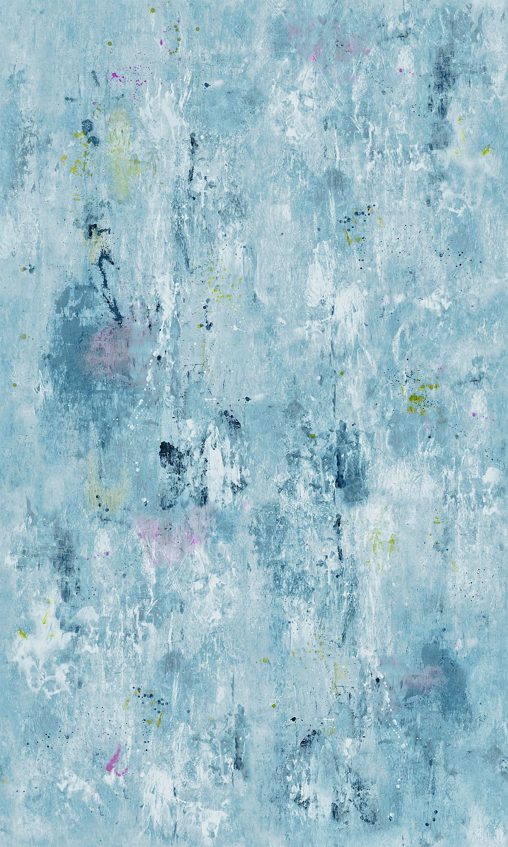 Corneille Mural - Slate Blue - by Designers Guild