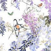 Sanderson Wisteria Falls Panel B Lilac Mural - Product code: 216297