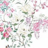 Sanderson Magnolia & Blossom Panel A Multi Mural