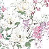 Sanderson Wisteria & Blossom Panel B Multi Mural - Product code: 216306