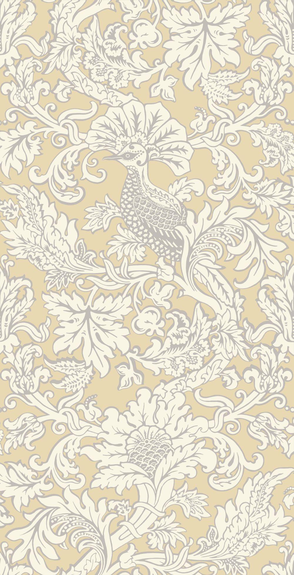 Cole & Son Balabina Vintage Yellow Wallpaper - Product code: 108/1001
