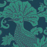 Cole & Son Balabina Midnight and Jade Wallpaper