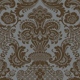Cole & Son Carmen Charcoal Wallpaper