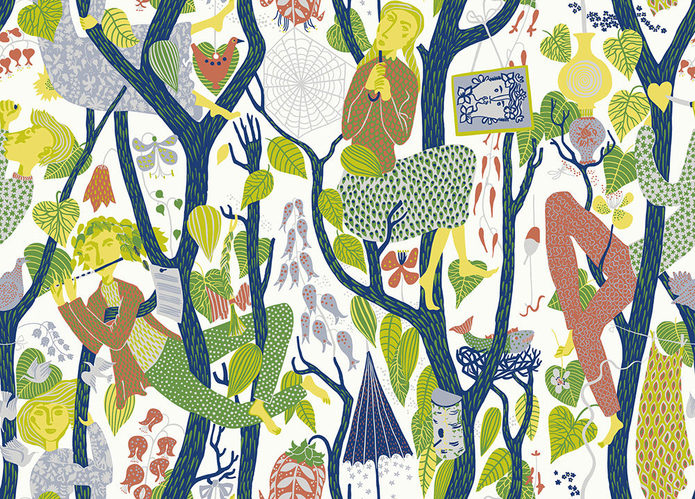 Boråstapeter Melodi Multi Wallpaper - Product code: 1757