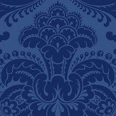 Cole & Son Petrouchka Blue Wallpaper