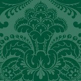 Cole & Son Petrouchka Green Wallpaper - Product code: 108/3012