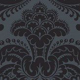 Cole & Son Petrouchka Charcoal Wallpaper