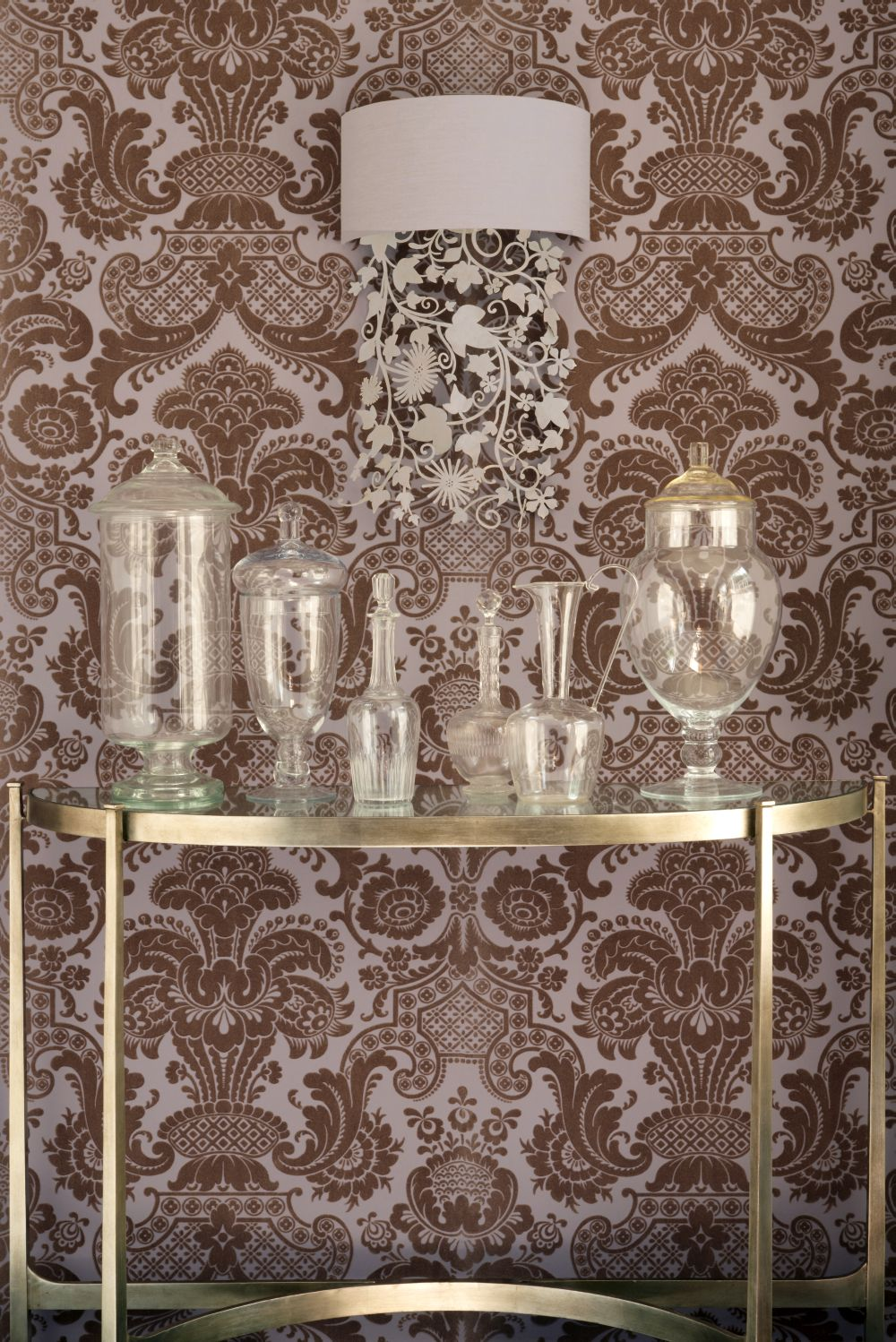 Petrouchka Wallpaper - Lilac - by Cole & Son