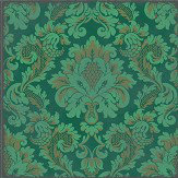 Cole & Son Stravinsky Green Wallpaper