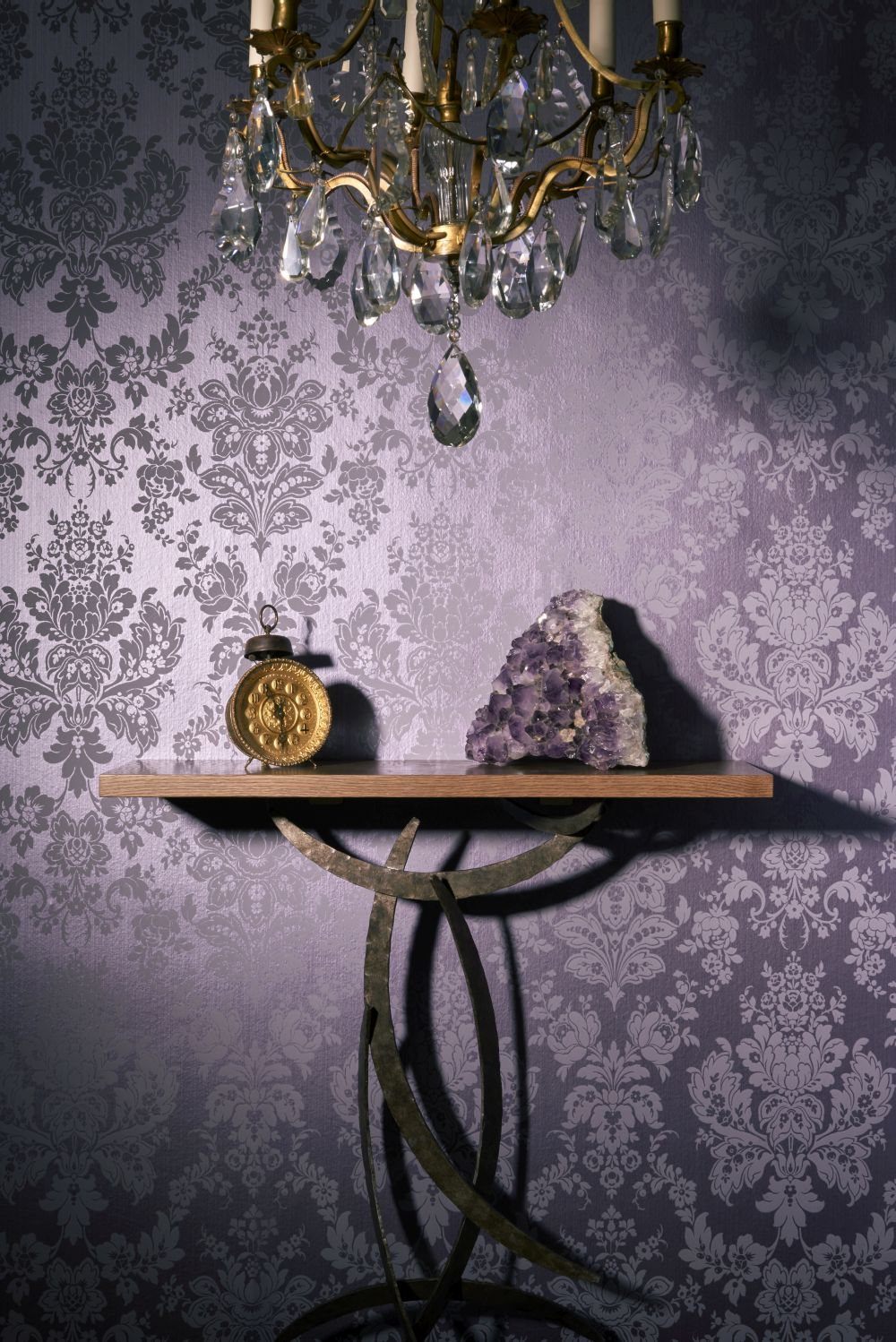 Cole & Son Giselle Plum Wallpaper - Product code: 108/5025