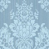 Cole & Son Giselle Blue Wallpaper - Product code: 108/5026