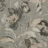 Jane Churchill Beatrice Silver / Pink Wallpaper - Product code: J162W-01