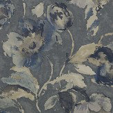 Jane Churchill Beatrice Steel / Blue Wallpaper - Product code: J162W-02