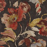 Jane Churchill Beatrice Charcoal / Copper Wallpaper - Product code: J162W-05