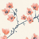 SketchTwenty 3 Blossom Aurora Orange Wallpaper