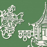 SketchTwenty 3 Chinois Summer Garden Green Wallpaper - Product code: MH00421