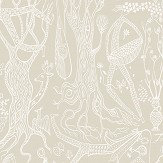 Boråstapeter Poeme d´amour Beige Wallpaper