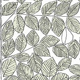 Boråstapeter Romans Black, White & Green Wallpaper - Product code: 1769