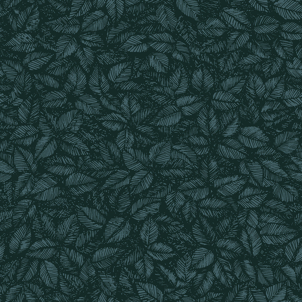 Boråstapeter Amorina Navy and Green Wallpaper main image