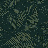 Boråstapeter Amorina Black & Green Wallpaper