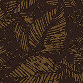 Boråstapeter Amorina Black and Copper Wallpaper