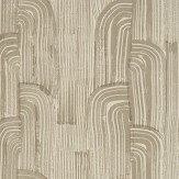 Lee Jofa Kelly Wearstler Crescent Taupe / Putty Wallpaper - Product code: GWP-3304.611.0