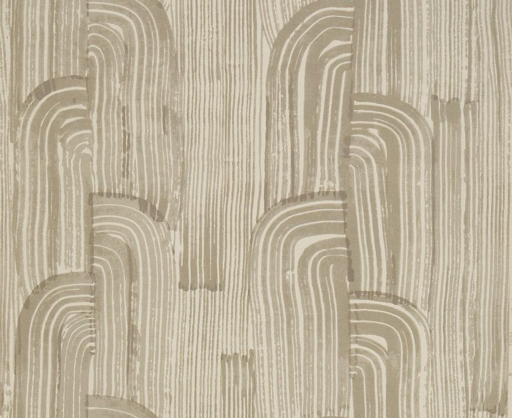 Lee Jofa Kelly Wearstler Crescent Taupe Putty Wallpaper Product Code Gwp 3304 611