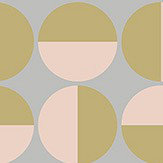 Boråstapeter Vertigo Grey & Pink Wallpaper