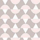 Boråstapeter Arne Pink & Taupe Wallpaper - Product code: 1782