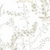 Boråstapeter Bladranker Ivory Wallpaper