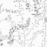 Boråstapeter Bladranker Silver Wallpaper