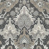 Cole & Son Pushkin Charcoal Wallpaper - Product code: 108/8043