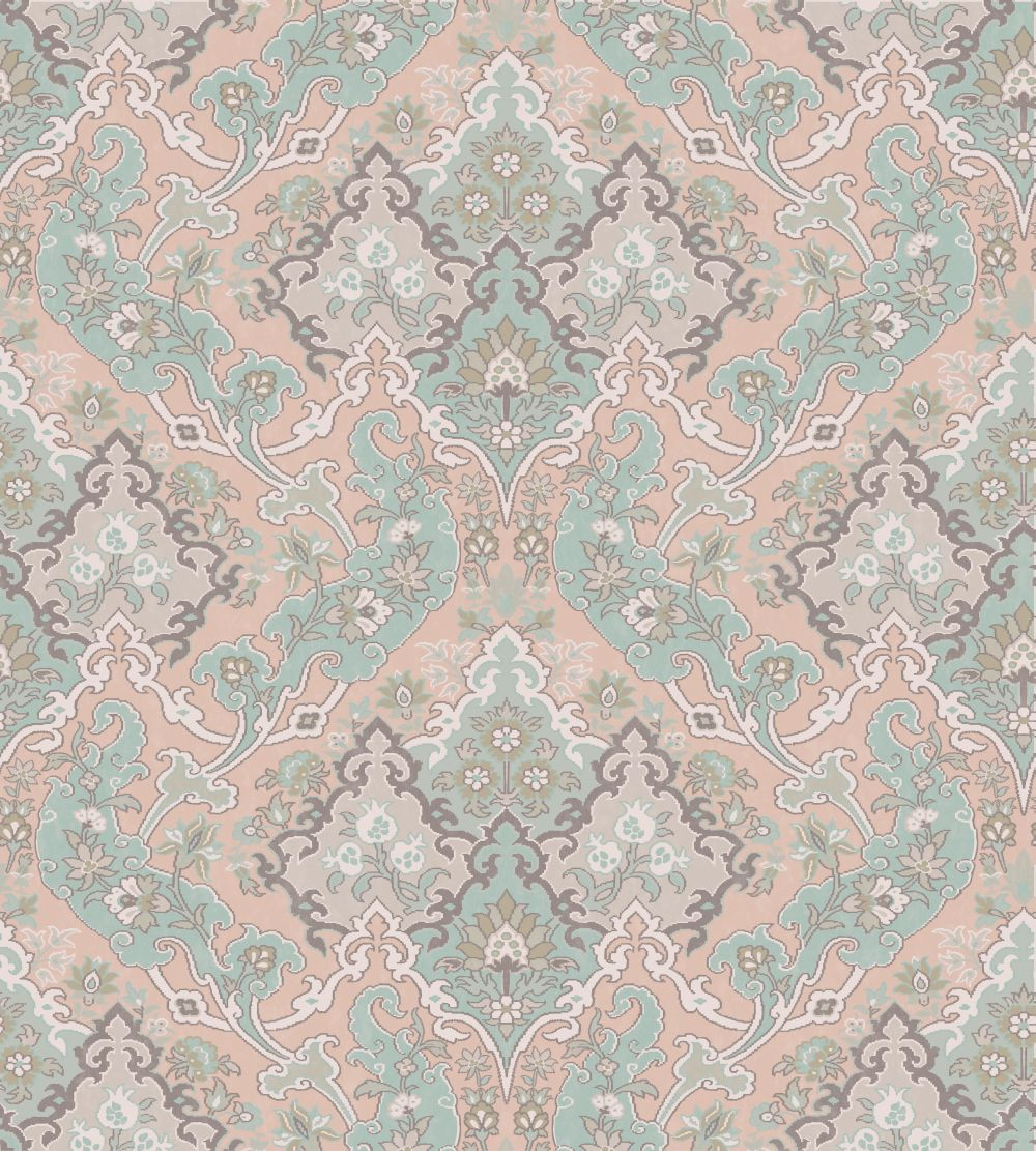 Pushkin by cole son pastel wallpaper direct - Cole son ...