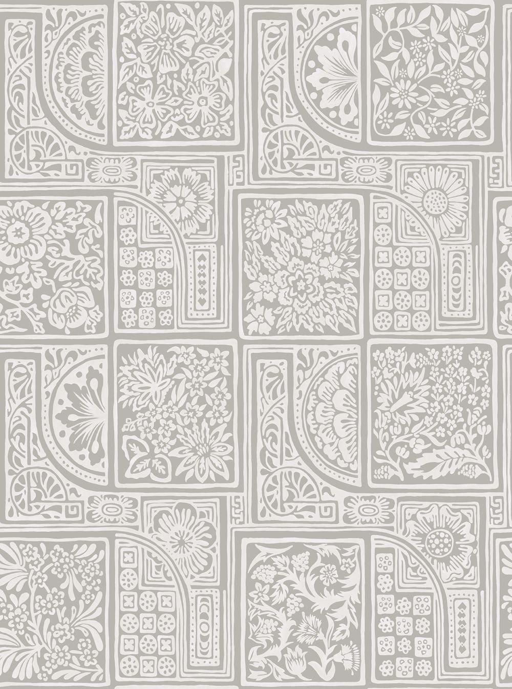 Cole & Son Bellini Grey Wallpaper main image