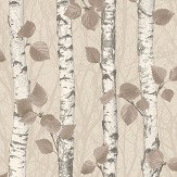 Albany Birchwood Taupe Wallpaper